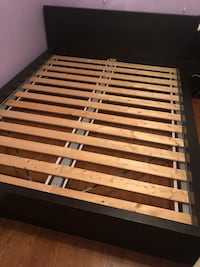IKEA malm bed and nightstand Brampton, L6Z 4T1