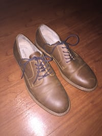 Men's shoes - Merona man made leather dress shoes - Size 11 New York, 10453