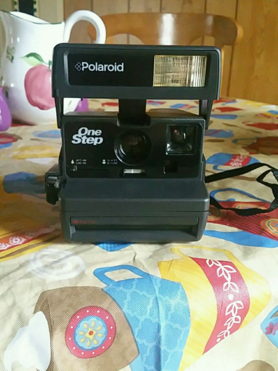 black Polaroid OneStep instant camera for sale  Hopkinsville