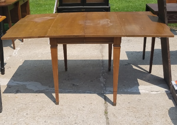 Solid Maple Drop Leaf Table