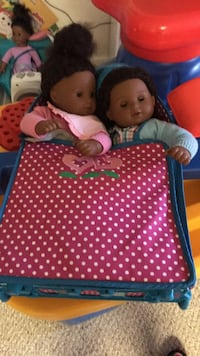 american girl doll  bitty twins