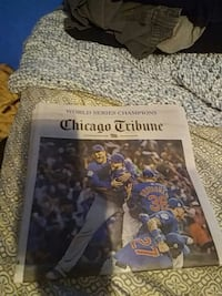 cubs world series newpaper Chicago, 60645