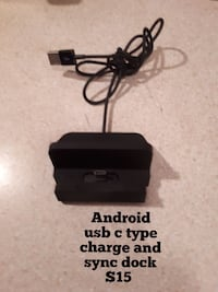 Android usb  type c charge and sync dock