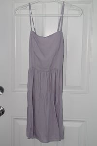 Women's lilac spaghetti strap dress