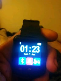 black smartwatch with black strap Jersey Village, 77040