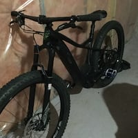 Black and gray hard tail fat tire mountain bikes $3500 for both !! Sherwood Park, T8H 1L4