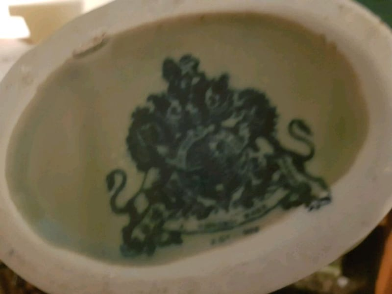 Antique Ironstone Pottery Vase Over 100 Years Old  941d5d68-def7-4796-b0be-b345c6b197c6