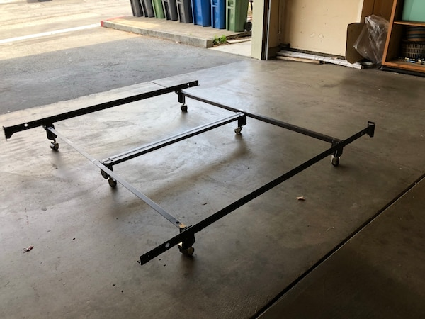 Used California King Hotel Metal Bed Frame 2 Available For Sale In