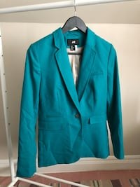 blue notch lapel suit jacket Hamilton, L8M 2K2