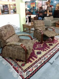 matching modern reclining chairs Albuquerque