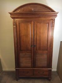 Solid Wood Armoire Cabinet Modesto, 95355
