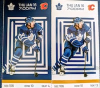 Toronto Maple Leafs Tickets Mississauga, L4Y 3S7