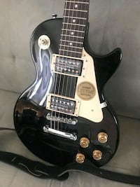Les Paul Guitar, ebony black, almost brand new Odenton, 21113