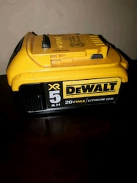 yellow and black DEWALT battery pack Toronto, M6R 1A5