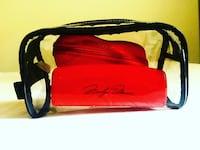 Clear cosmetic bag with Marilyn Monroe and Vgue glasses cases Los Angeles, 91356