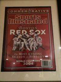 Red sox sports illistrated 2004 Rochdale, 01542