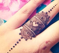 Henna tattooing Kitchener