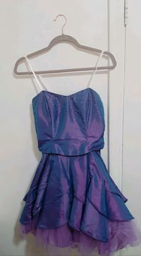 Purple Laura Petites dress