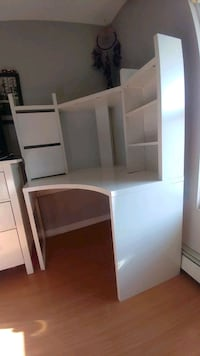 White desk with hutch from ikea Old Bridge Township, 08857