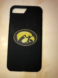 New Iowa Hawkeye iPhone 8Plus case never used  Des Moines, 50315