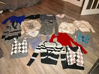 Lot of 15 sweaters and vests (mostly xsmall some small) Dorval, H9P 1J3
