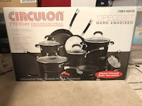 Circulon Premier Professional 13 piece set - new unopened Ashburn, 20148