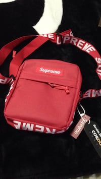 red and black Supreme backpack Germantown, 20874