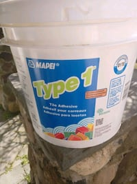 Free not open..tile mastic