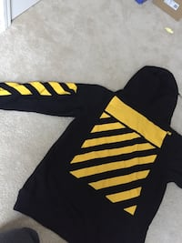 Black and yellow Caravaggio OFF-White hoodie  Biloxi, 39531