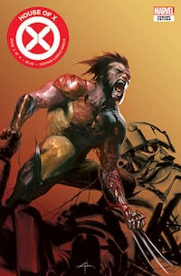 HOUSE OF X #1 limited edition FanExpo Variant Cover by Dell'Otto