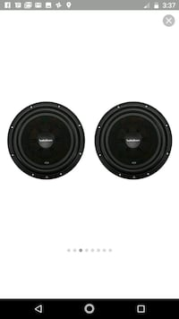 two black coaxial speakers screenshot Batesville, 38606