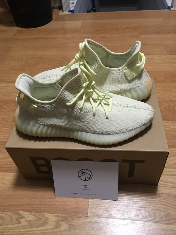 e6fadf888 Used Yeezy 350 boost V2 Butter size 10.5 DSWT verified from goat for sale  in San Francisco - letgo