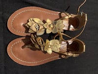 Gold Coach gladiator sandals, size 5 Vaughan, L6A 2W6