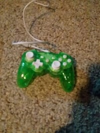 green and white corded game controller Des Moines, 50314
