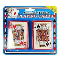 Plastic Coated Playing Cards - 2 Packs Palm Coast