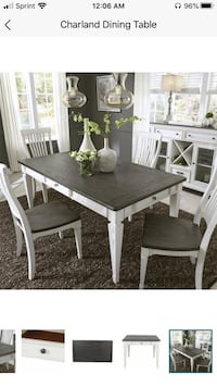 Charland Dining Table ONLY