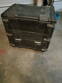 black and gray metal tool chest Stafford, 22556