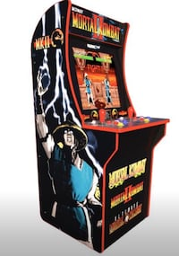 4ft Mortal Kombat Home Arcade Gaming Machine Classic Style Game Room