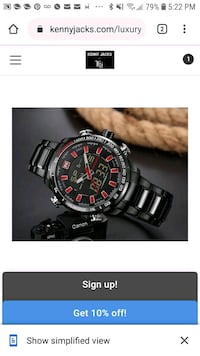 Mens quality watch.