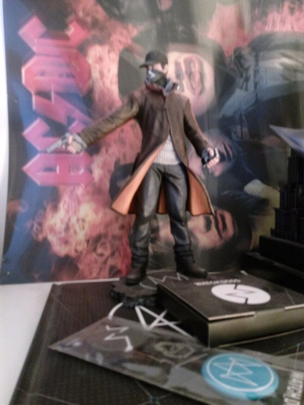 Limited edition Watch Dogs + artbook