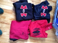 Blue and red under armour pullover hoodie Moncton, E1G 1B2