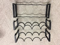 Wine racks, holds 4-12 bottles, great condition  Issaquah, 98027