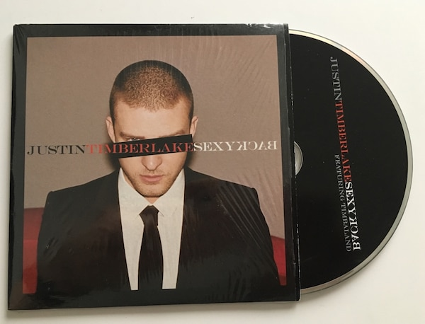 CD single Justin Timberlake Sexy Back