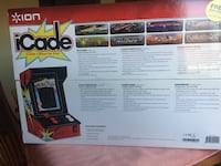 Icade gaming system; use iPad to play the historic games of asteroids, Tamaqua, 18252