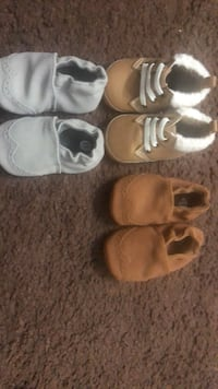 toddler's three pairs of shoes 3250 mi