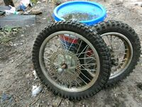 "Two minibike tires one is14""_and the other 16"" Waterbury, 06704"