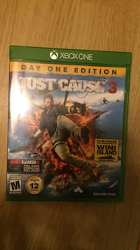Xbox one just cause 3 game case Newark, 19713