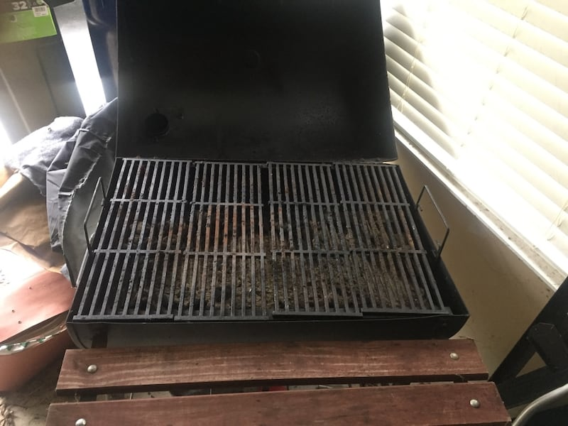 Large charcoal grill 1