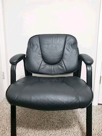Black leather office chair Mauldin, 29662