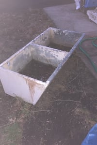 Old school concrete slop sink RUTHERFORD